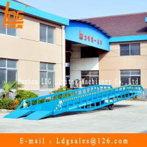 10 Tons Mobile Loading Ramp (DCQY10-0.8)