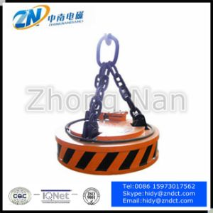 Steel Scrap Small Size Electromagnetic Lifter MW5-80L/1 pictures & photos