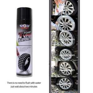 650ml Car Tire Foam Shine Spray Cleaner pictures & photos