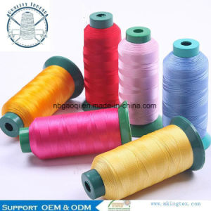 100% Nylon Filament Sewing Thread 100d in Plastic Corn pictures & photos