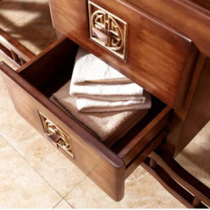 Classic Solid American Ash Bathroom Sink Cabinet (GSP14-020) pictures & photos