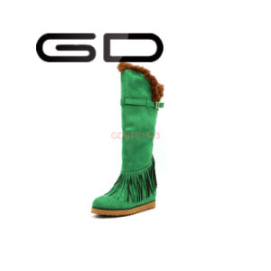 Manufacture Supply Design Stylish Women Leather Boots Footwear