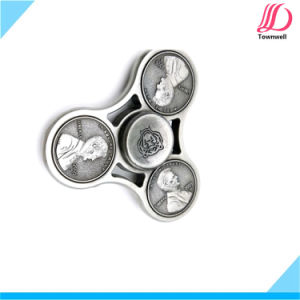 Metal Hand Spinner Us Dollar Design with Tin Box Packaging