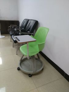 Standard Clssroom plastic Node Training Chair with Writing Pad pictures & photos