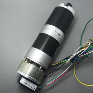 57mm Brushless DC Gearmotors, with Electric Brake and Encoder