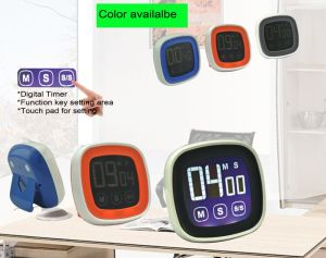 Touch Screen Digital Kitchen Timer with Colorful Screen pictures & photos