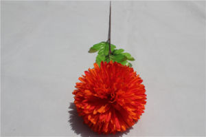 Silk Orange Hydrangea Long Stem Artificial Flowers Hydrangea pictures & photos