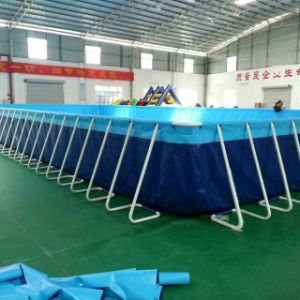 Giant Inflatable Frame Pool Filter Swimming Pool with Filter and Ladder pictures & photos