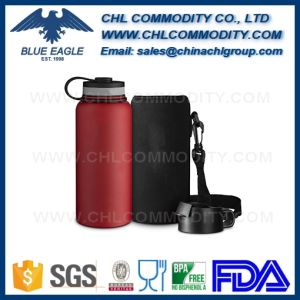 Powder Coated Theemos Vacuum Flask for Amazon Customers pictures & photos