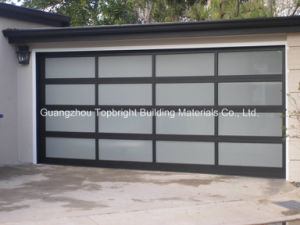 Wholesale Aluminum Glass and Plycarbonate Sectional Garage Door pictures & photos