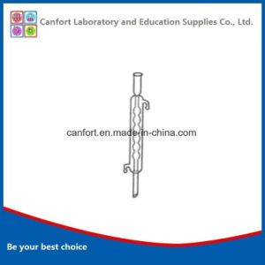 Laboratory Glassware Condensing Tube/Condenser Pipe with Bulbed Inner Tube pictures & photos