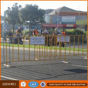 Safety Removable Pedestrian Metal Road Barriers pictures & photos