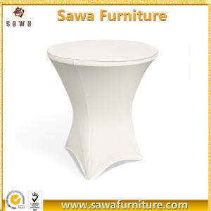 New Style Cheap Elastic Cocktail Table Covers pictures & photos