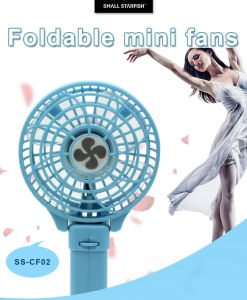 Mini Rechargeable Personalized Handheld Battery Fans
