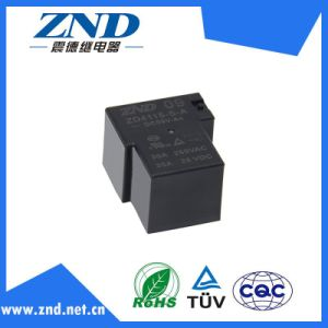 Zd4115 (T90) Power Relay 30A 4pin Silver Contact 9V 30A for Industrial Use