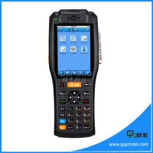 2016 Smart Device Touch Screen 3G WiFi GPS Android Industrial Barcode Scanner PDA