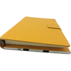 PU Leather Note Book Power Bank with High Capacity