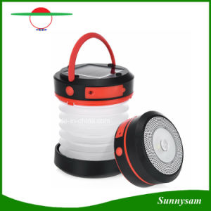 Solar Camping LED Lantern USB Rechargeable Collapsible Torch Light Portable Flashlight Waterproof Lantern