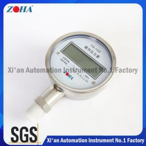 Ys100 0.5% 0.2% 0.1% Accuracy Digital Pressure Gauge From Professional Manufacturer pictures & photos