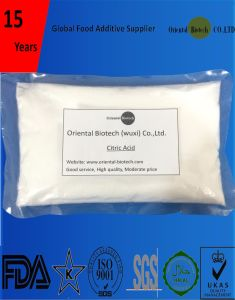 High Quality GMO Free Citric Acid Mono E330 Price