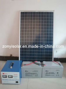 150w Separated Home Solar Power System (ZY-150A) pictures & photos