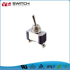 Electrical Waterproof Lock Automotive Toggle Switch