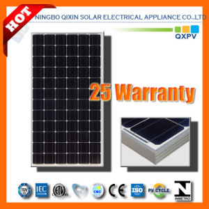 195W 125mono Silicon Solar Module with IEC 61215, IEC 61730 pictures & photos