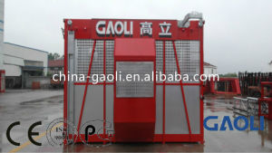Safety Single Cage 2 Tons Rack & Pinion Construction Elevator / Lifter pictures & photos
