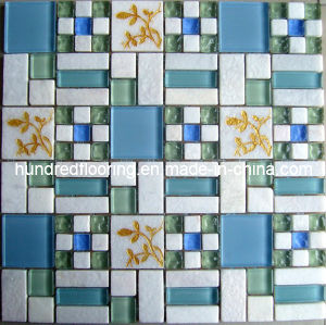 Glass Mosaic Bathroom and Kitchen Tile (HGM296) pictures & photos