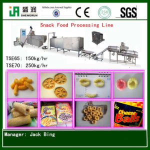 Rice Puff Snack Food Extruder Machine
