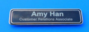Soft Enamel Hotel Uniform Name Plate (ASNY-JL-NB-111301) pictures & photos