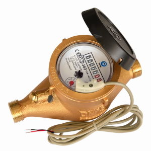 Multi Jet Dry Type Vane Wheel Water Meter (MJ-SDC-PLUS-K-7+2-2) pictures & photos
