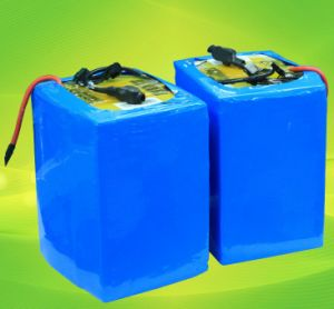 Lithium Battery 12V 72V 96V 48V 60ah 80ah Motorcycle LiFePO4 Battery with BMS pictures & photos