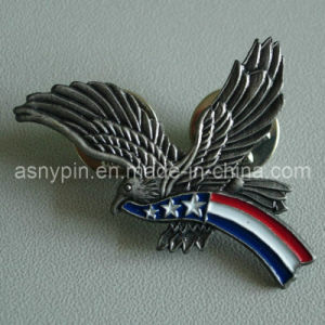 Antique Nickel Eagle Pin Badge (ASNY-eagle pin-IX-005) pictures & photos
