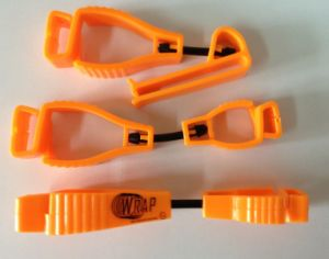 Plastic Safety Glove Clip for Scaffolding