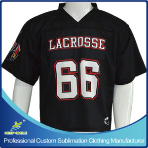 Custom Sublimation Men′s Lacrosse Game Jersey pictures & photos