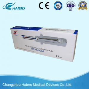 Single Use Surgical Linear Cutter Stapler 100mm for Abdominal Surgery & Gynecology pictures & photos