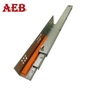 Undermount Ball Bearing Soft Closed Linear Slide Rail For Furniture Drawer Glides