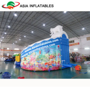 Giant Inflatable Elephant Water Park, Water Slide With Pool Water Park Games pictures & photos