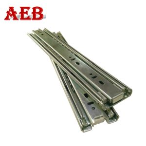 China Drawer Slide Rail Heavy Duty 51mm Telescopic Drawer Channel