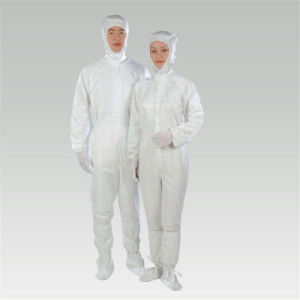 ESD Anti-Static Disposable Coveralls Sets for Clean Room pictures & photos