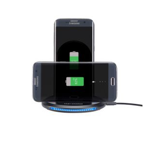 Newest Stand Qi Standard Fast Universal Wireless Charger