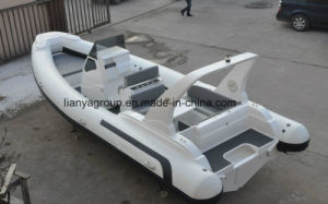 Liya 25FT Fiberglass Boat Dinghy Large Rib Yatch pictures & photos