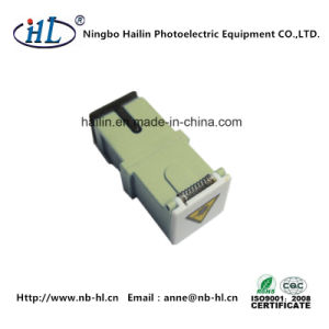 Fiber-Opticalal Communications Sc/mm Fiber Optic Adapter with Shutter pictures & photos