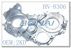 Diesel Engine Aluminum Timing Cover 2kd for Toyota