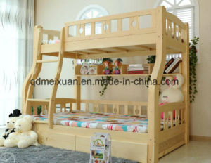 Solid Wooden Bed Room Bunk Beds Children Bunk Bed (M-X2684) pictures & photos
