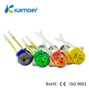 Kamoer Peristaltic Pump Kfs 12 V / 24 V Bl DC Motor Water Pump with Reducing Gear, Low Water Pump Flow Rate, 4 Color