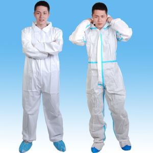 PP Nonwovne Coverall, Surgical Coverall, Hospital Overalls pictures & photos