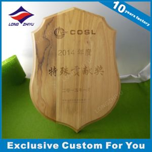 Custom Engraved Wall Soild Wooden Plaque Trophy pictures & photos