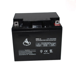 12V 38ah Rechargeable Long Life Sealed Lead Acid Battery